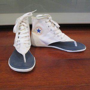 Converse All Star High Top Thong Sandals
